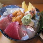 10897283 - 海鮮丼アップ(その3)
