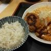 とんかつ大和楽 - 料理写真:チキンカツ&黒豚メンチ定食