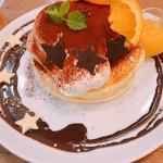 mog - フォンダンショコラパンケーキ