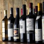 薪焼 ステーキ アジクラ - 多種多様な各国のワインを揃えております