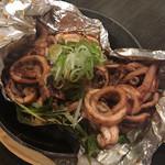 魚 野菜 酒 しゃばらむ - イカのゴロ焼きです