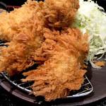 とんかつ棹 - 牡蠣フライ