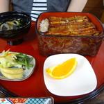 鰻勝 - 料理写真:相方も同席