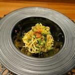CULACCINO - ぼう菜とトマトの自家製パスタ