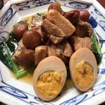 108981353 - ふーみん(豚肉の梅干煮定食)