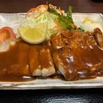 大富士 - ポークチャップ定食②