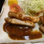 大富士 - ポークチャップ定食3