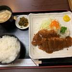 大富士 - 上とんかつ定食