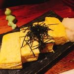 魚屋さんじゅうまる - 玉子焼き(ハーフ)