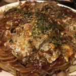 広島焼 HIDE坊 - 野菜ダブル肉ダブル