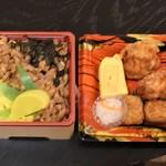 かしわ屋源次郎 - そぼろ飯セット