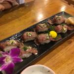 おふくろ亭 - 宮古牛の寿司
