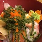おふくろ亭 - 海鮮海ぶどう丼