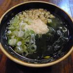 池田屋 - ランチの稲庭うどん(半カレー付き)