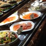 アンティコカフェ アルアビス - お惣菜類が充実しています。テイクアウトできるのがいいですね。2011.12.22