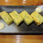 魚虎 - 玉子焼(ネギ)小 680円