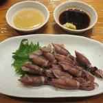 魚虎 - 釜あげホタルイカ(大) 880円