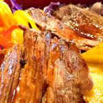 108992454 - 京たけのことお野菜ナムルの牛ステーキ