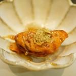 寿司栄 - あん肝の飴煮