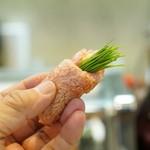 寿司栄 - 大トロと芽ネギ
