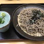 田舎屋 - 料理写真:ざるそば=580円