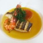 109020 - 鮮魚のポワレ・フェンネルとサフランの香りブイヨン