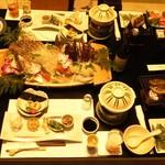 季さら - 料理写真:夕飯(雅プラン)