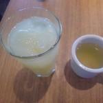 トニーローマ - ←グレプフルーツ 日替わりスープ→