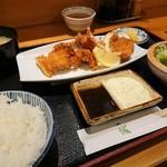 109000933 - 鱧フライ定食 1050円
