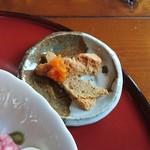 和風レストラン 麻希 - デザート(サラダそば)