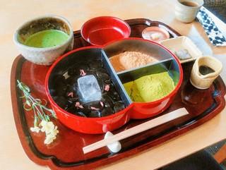 廚菓子くろぎ - わらび餅 お抹茶