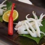 勝三寿司 - ゲソ塩焼