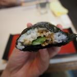 勝三寿司 - 穴胡巻