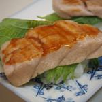 勝三寿司 - 炙りトロにぎり