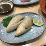 寿司大 - 河豚白子焼き