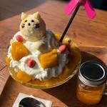 Cafe&Bar ルディック - トリプルマンゴーパフェ氷
