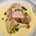 レストラン バー アミューズメント - 鶏胸肉のフリカッセランチ1,000円