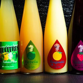 <果汁80%たっぷりチューハイ>と〈希少ワイン〉