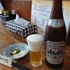 三丁目の手打うどん - 料理写真:ビールは瓶のみ