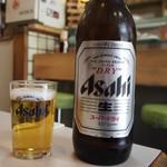 勝三寿司 - ビール