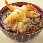 森の食卓ミングル - 料理写真:天ぷらそば