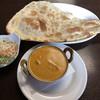 ナングロガル - 料理写真:カレーナンセット(チキンカレー)750円