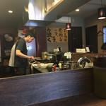 麺や 紡 - 店内