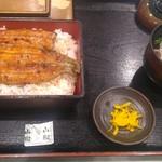 ときわ - 愛知県一色町産極上うな重きも吸付2,500円