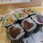 梅乃寿司 - 12/23 ひもきゅうとづけ。