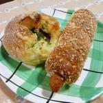10901933 - 総菜パン2種