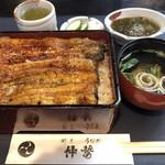 unagikappounakasei - 松重 ¥3,500(税別)             肝吸 ¥200(税別)