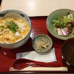 本格炭火串焼 あおば - 大山鶏の親子丼800円