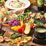 パープルカフェ - コース料理は4000円から