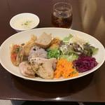 Bon courage - 本日のフレンチ丼・スープ・ジンジャエール